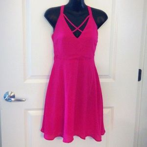 Pink sundress (flowy)